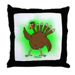 Gamma Infused Turkey Throw Pillow