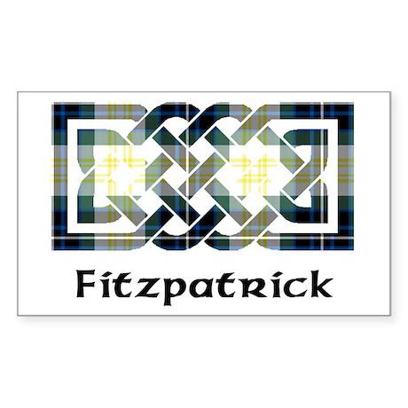 Knot - Fitzpatrick Sticker (Rectangle)