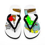 Rhinos Flip Flops