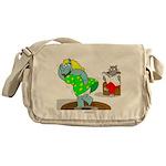 Rhinos Messenger Bag
