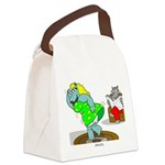 Rhinos Canvas Lunch Bag