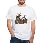 Reindeer Games White T-Shirt