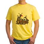 Reindeer Games Yellow T-Shirt