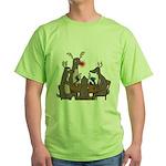 Reindeer Games Green T-Shirt