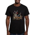 Reindeer Games Men's Fitted T-Shirt (dark)
