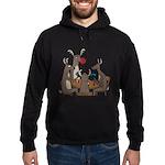 Reindeer Games Hoodie (dark)