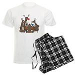 Reindeer Games Men's Light Pajamas