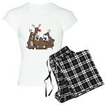 Reindeer Games Women's Light Pajamas
