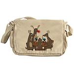 Reindeer Games Messenger Bag