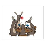 Reindeer Games Small Poster