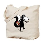 Skunk Snacking Tote Bag