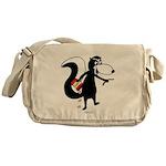 Skunk Snacking Messenger Bag