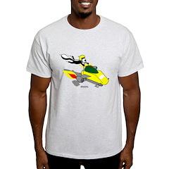 Skunk Sledding T-Shirt