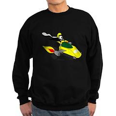 Skunk Sledding Sweatshirt (dark)