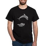 Shark Jumping Dark T-Shirt