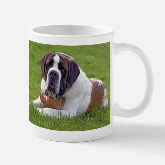 Saint Bernard Dog2 Mugs