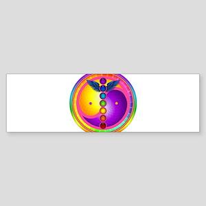 chakra_mandala Bumper Sticker