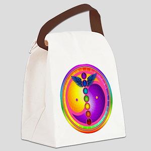 chakra_mandala Canvas Lunch Bag