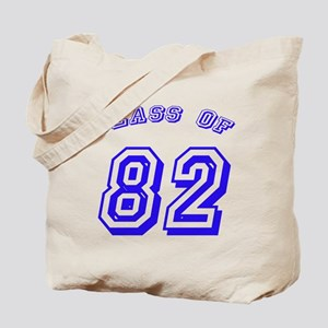 Class Of 82 Tote Bag
