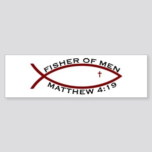 Fisher (RED) - Bumper Sticker