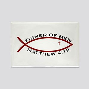 Fisher (RED) - Rectangle Magnet