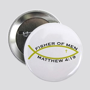 """Fisher (YLW) - 2.25"""" Button"""