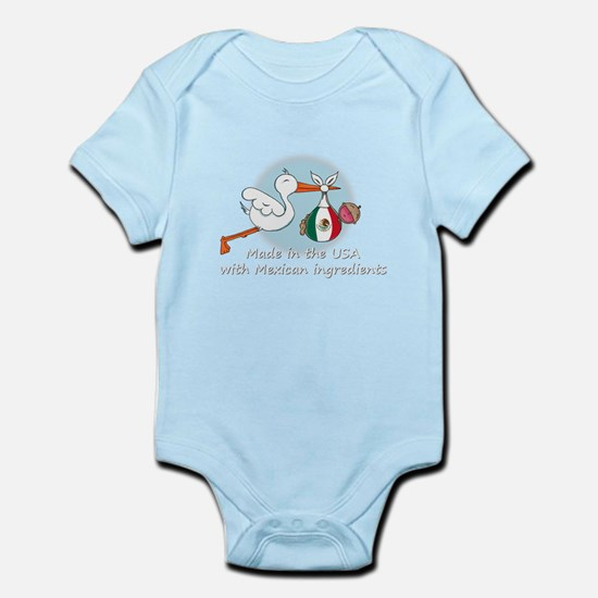 stork baby mex2 white.psd Body Suit