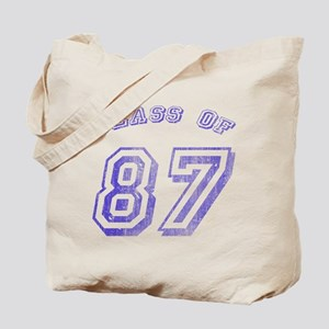 Class Of 87 Tote Bag