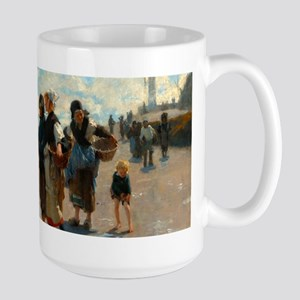 En route pour la pêche by John Singer Sargent Mugs