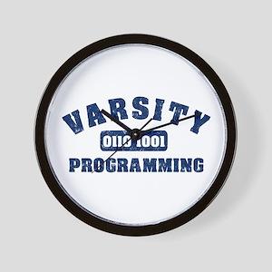Varsity Programming Wall Clock