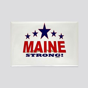 Maine Strong! Rectangle Magnet