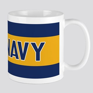 U.S. Navy: Fly Navy (Blue & Gold) Mug