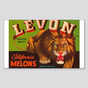 Levon Melons Rectangle Sticker