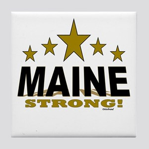Maine Strong! Tile Coaster