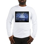 Starry Night with logo on back Long Sleeve T-Shirt