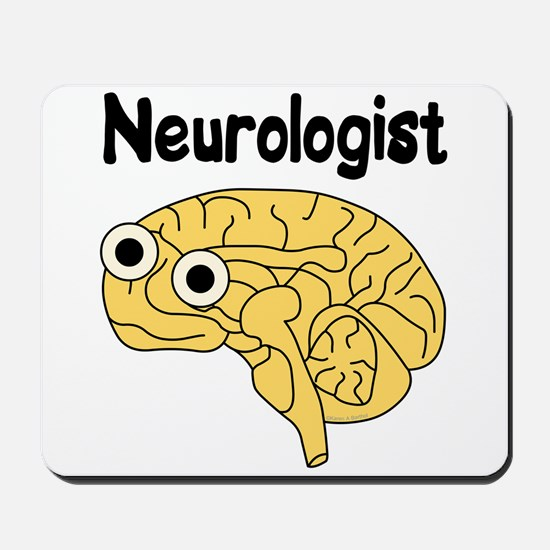 Neurologist Brain Mousepad