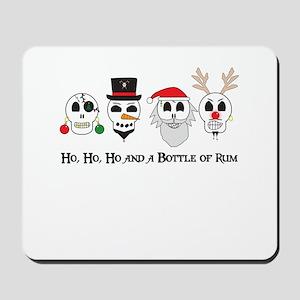 Christmas Pirates Mousepad