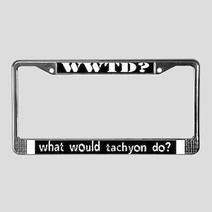 WWTD License Plate Frame