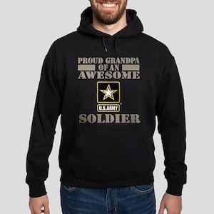 Proud U.S. Army Grandpa Hoodie (dark)