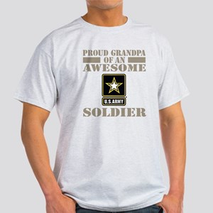 Proud U.S. Army Grandpa Light T-Shirt