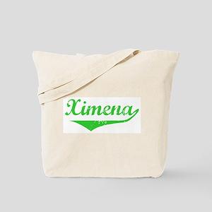 Ximena Vintage (Green) Tote Bag
