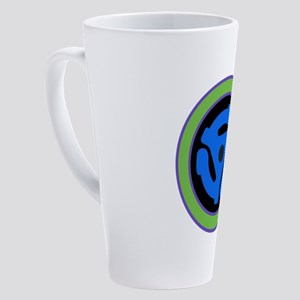 45 RPM Adapter 17 oz Latte Mug