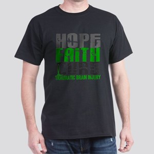 Hope Faith Cure TBI T-Shirt