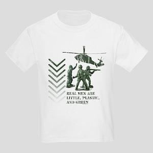 Real Men Kids Light T-Shirt
