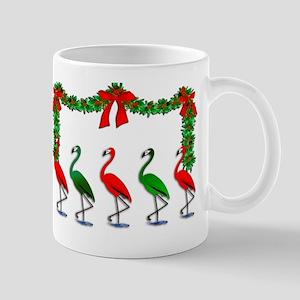 Christmas Flamingos Rockettes Mugs
