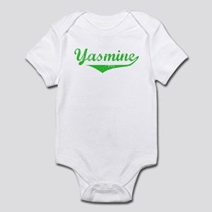 Yasmine Vintage (Green) Infant Bodysuit