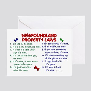 Newfoundland Property Laws 2 Greeting Card