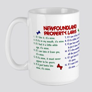 Newfoundland Property Laws 2 Large Mug