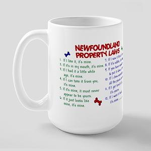 Newfoundland Property Laws 2 Large Mug