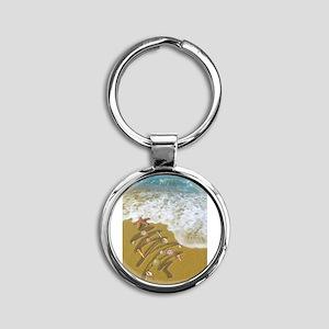 Christmas Seashells and Tr Keychains